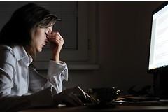 Женщины испытывают стресс чаще дома, чем на работе.
