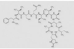 Химическая структура теиксобактина.