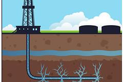 Добыча сланцевого газа методом гидравлического разрыва пластов может при вести к отравлению почвы и массовым заболеваниям раком.